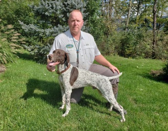 Northern Exposure Sir Winston (Winston) (GSP) UT Prize 1 201 At the Mid-Ohio Chapter on Saturday October 6th, 2018